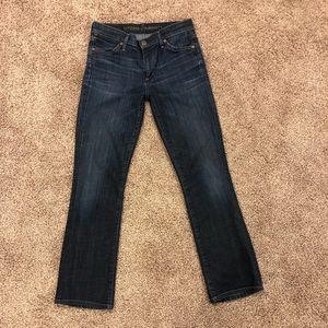 Citizens of humanity  slim boot cut jeans size 27